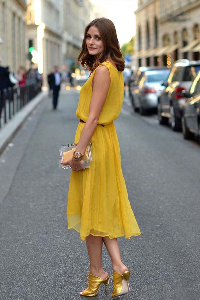 An All Yellow Street Style Look