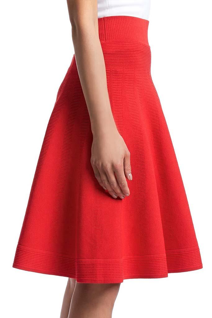 Australian Designer Scanlan Theodore Crepe Knit Skirt,ScanlanTheodore, $450AUD