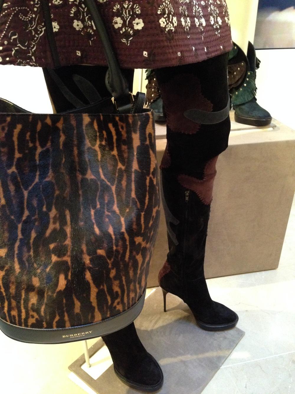 A Bucket Bag,Burberry Prorsum Autumn Winter Womenswear 2015