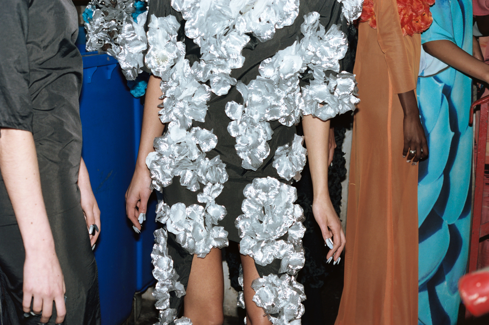 BACKSTAGE:VIN + OMI Autumn Winter 2015, London Fashion Week, photography Tommy Wharfe