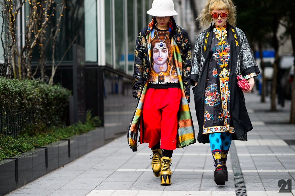Tokyo Fashion Week Street Style, photo by Adam Katz Sinding