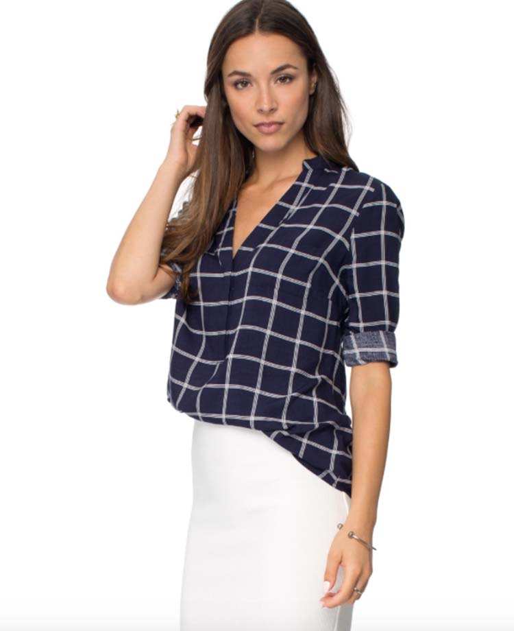 Mia Blouse, The ICONIC, $49.95AUD