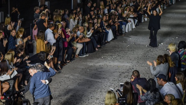 An Angry Neighbour Storms the ELLERY MBFWA Opening, photo SMH.com.au