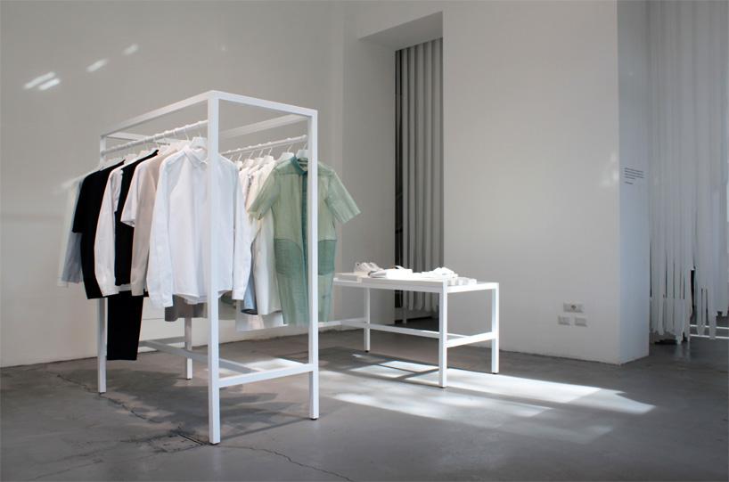Milan COS Store Spring Summer 2015 Collection, COS x Snarkitecture, photo designboom