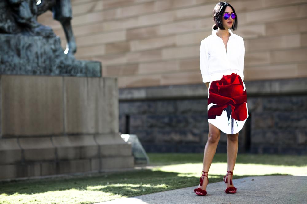 Fashion Week Street Style April 2015, photo -Cocktail Revolution