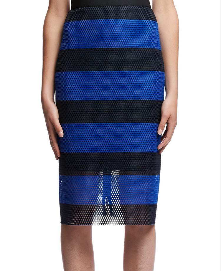 Stripe Web Pencil Skirt, Scanlan Theodore, ON SALE $315AUD