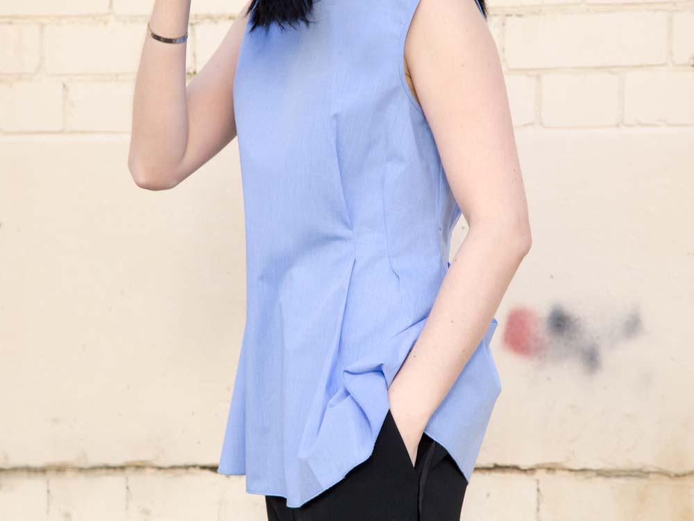 ELLERY Australia Blue Cotton Shirt, Céline Pants