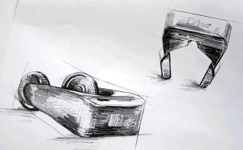 Dior Eyes, VirtualHeadset, Sketch