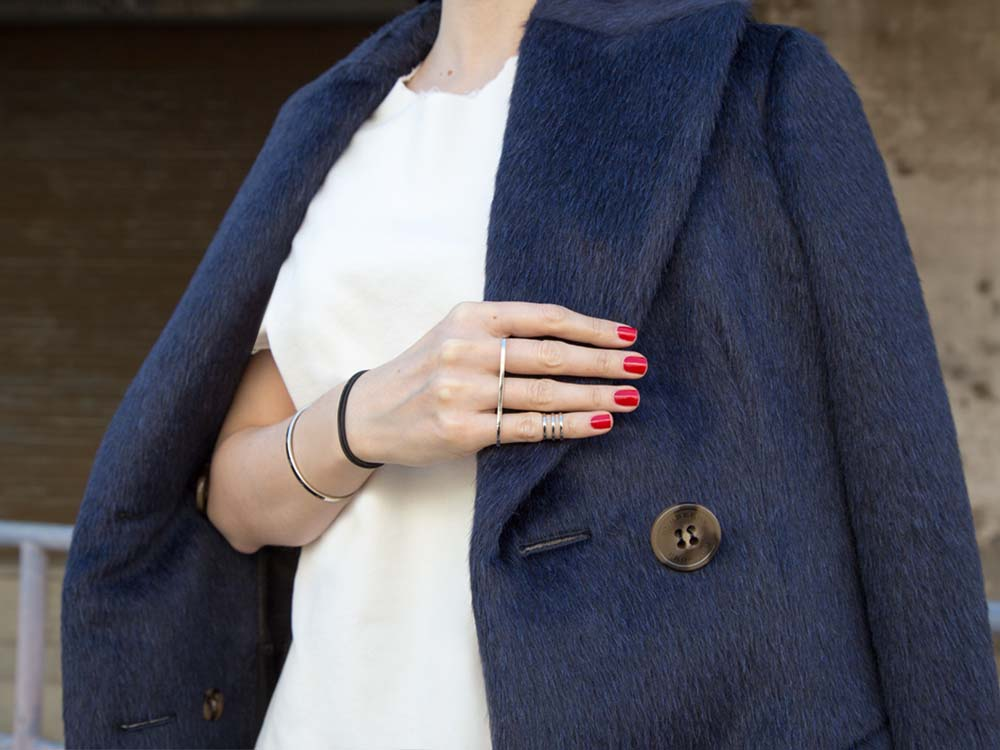 Burberry Classic Blue Coat