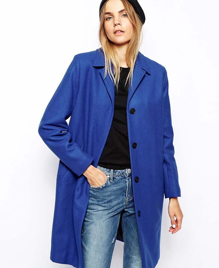 Won Hundred Imogen Coat in Wool, ASOS, ON SALE, $244.50AUD