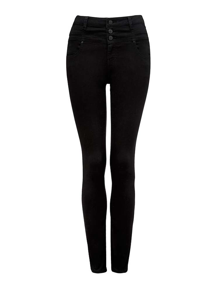 Mia High Waisted Black Jeans, ON SALE, $19.95AUD