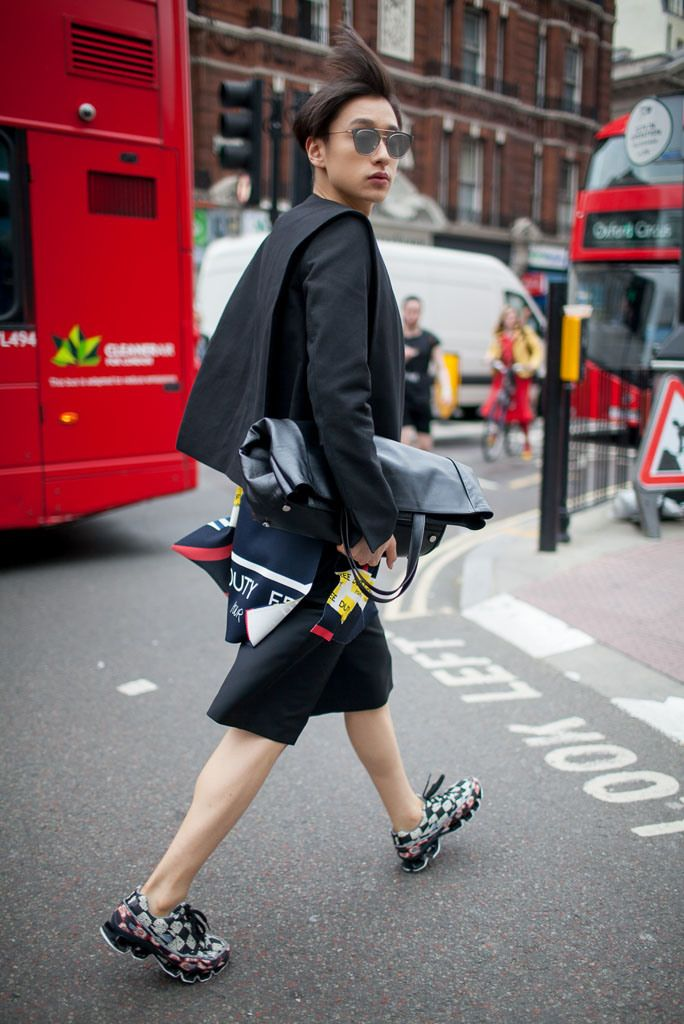 London Collections: Men Street Style, photo by Kuba Dabrowski