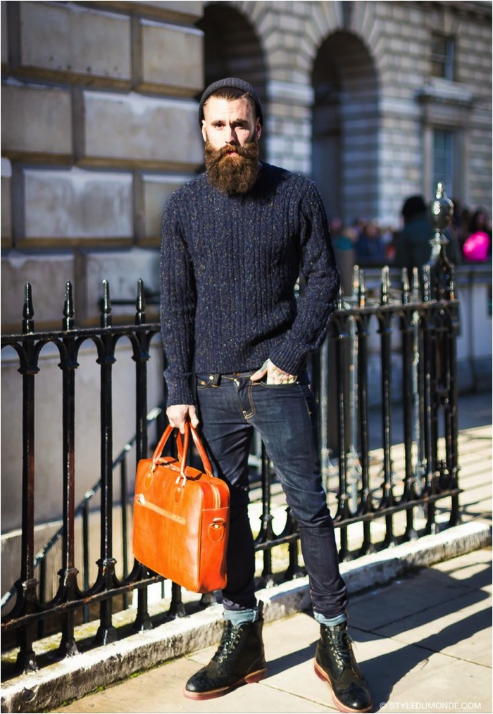 London Collections: Men Street Style, Ricki Hall, photo by styledumonde.com