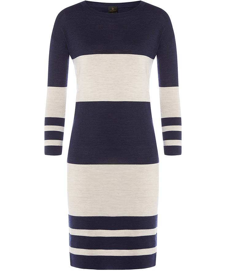 David Lawrence, Two Tone Wool Dress, $249AUD
