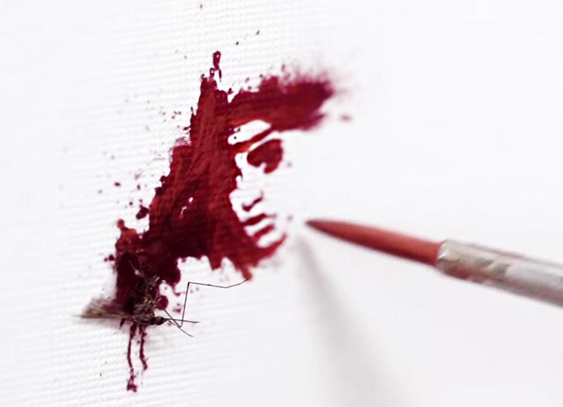 Mosquito Blood Portraits for Glorix Ads