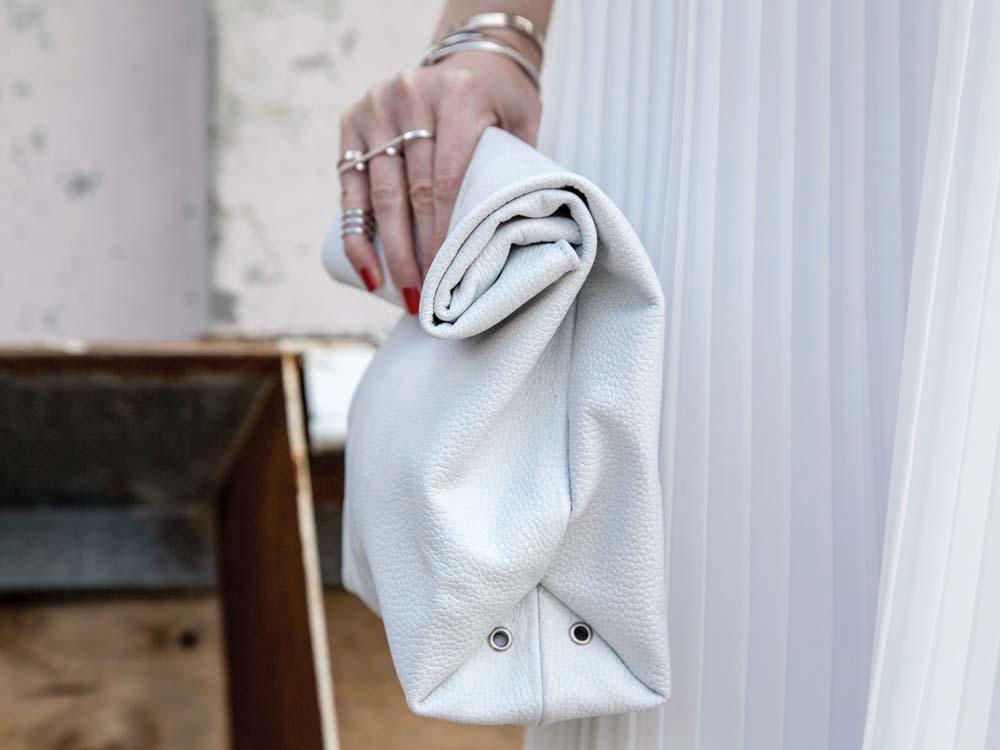 White Lunchy Clutch Tana & Hide, Etsy