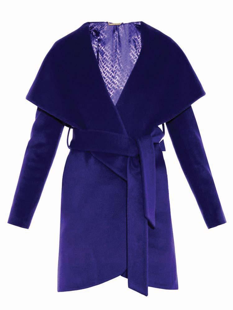 Wrap Wool Coat, Diane Von Furstenberg, Matchesfashion.com