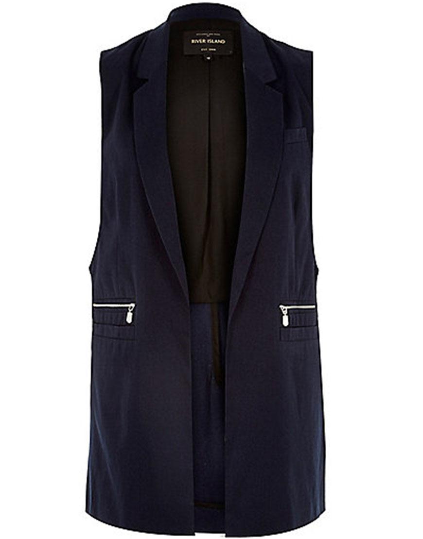 River Island Sleeveless Vest, $110AUD