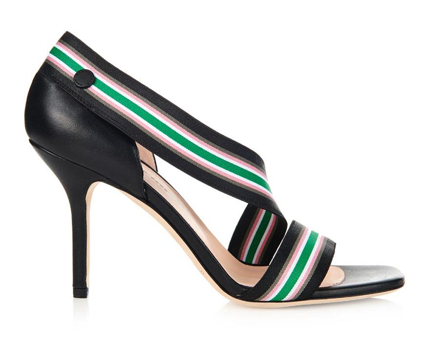 Christopher Kane Elastic Stripe Heels, $571AUD