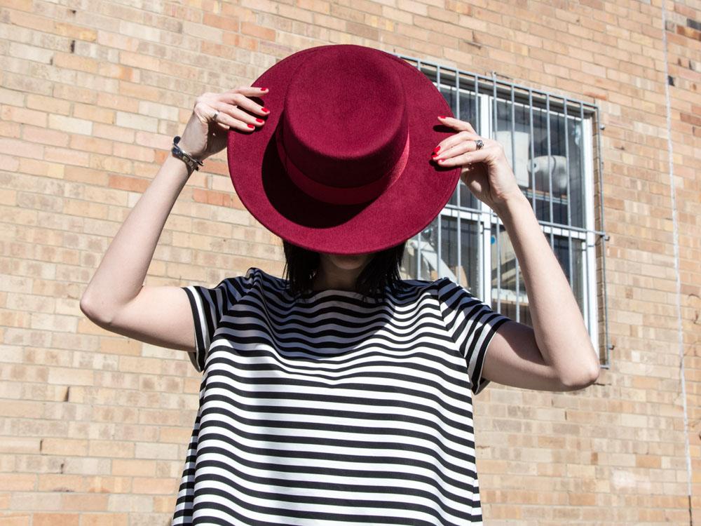 Lack of Color Hat, ZARA Top