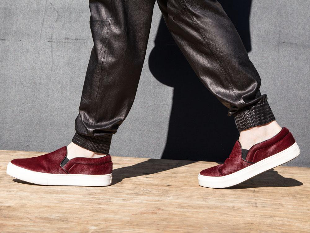 VINCE Leather Pants, Céline Shoes