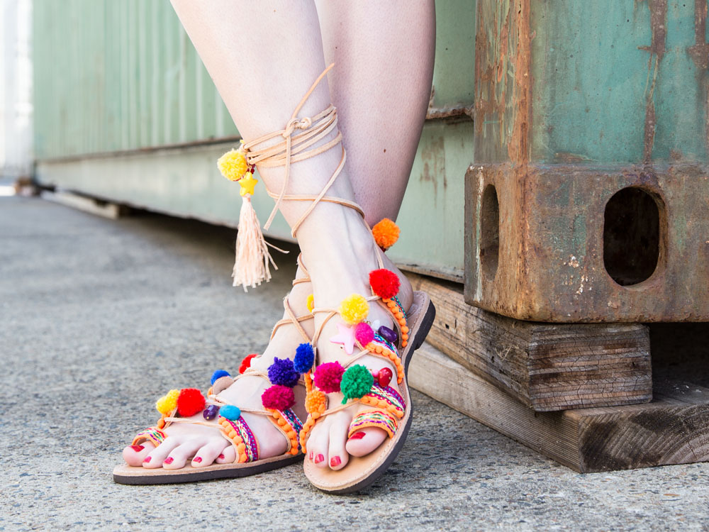 Sandals of Love on Etsy