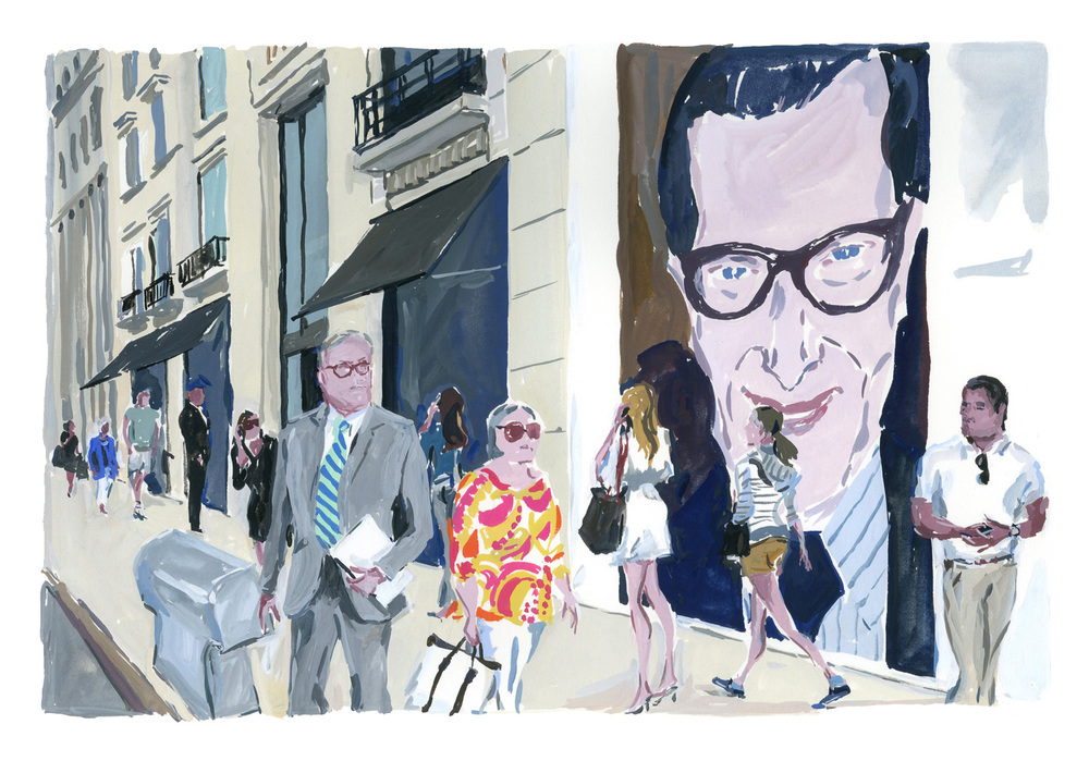 Barneys New York, Madison Avenue.   Louis Vuitton New York Travel Book
