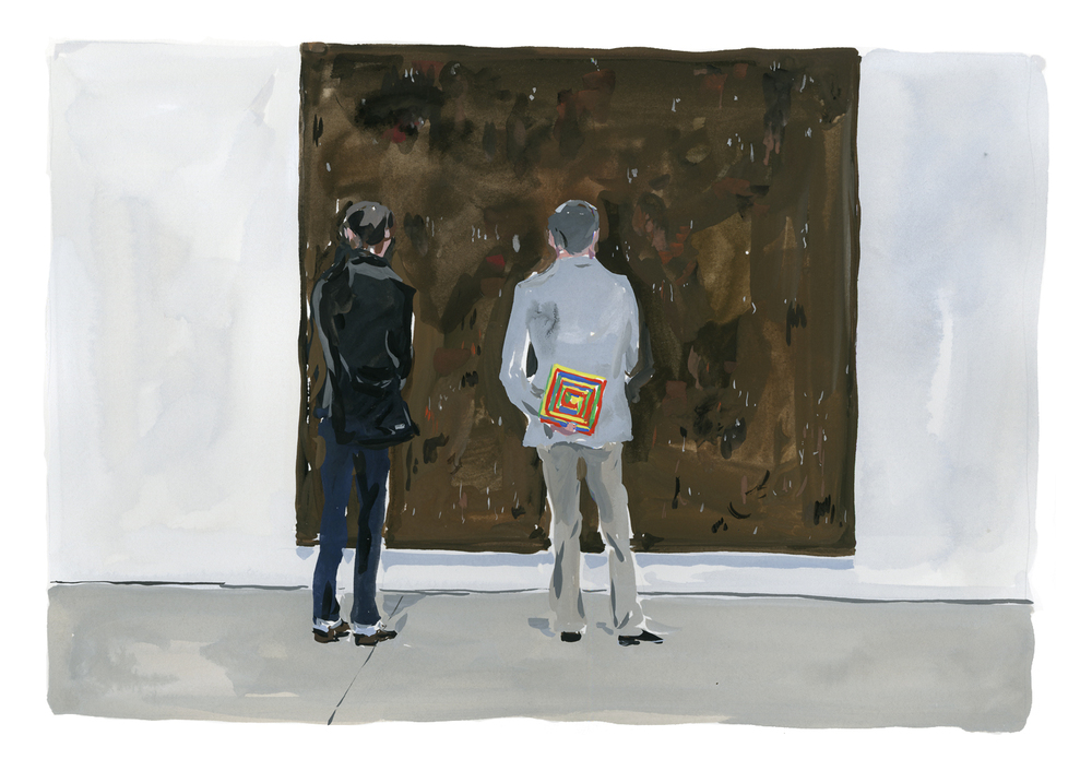 Resnick painting at Cheim & Read Gallery, Chelsea   Louis Vuitton New York Travel Book