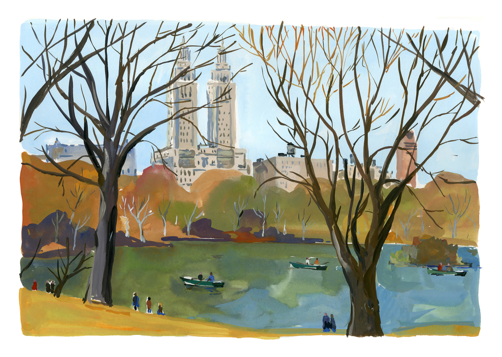 Central Park   Louis Vuitton New York Travel Book