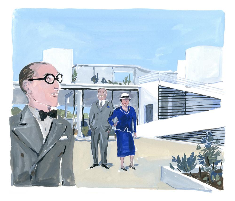 """Le Corbusier, Villa Savoye From""""Les Heures Claires de la Villa Savoye"""""""