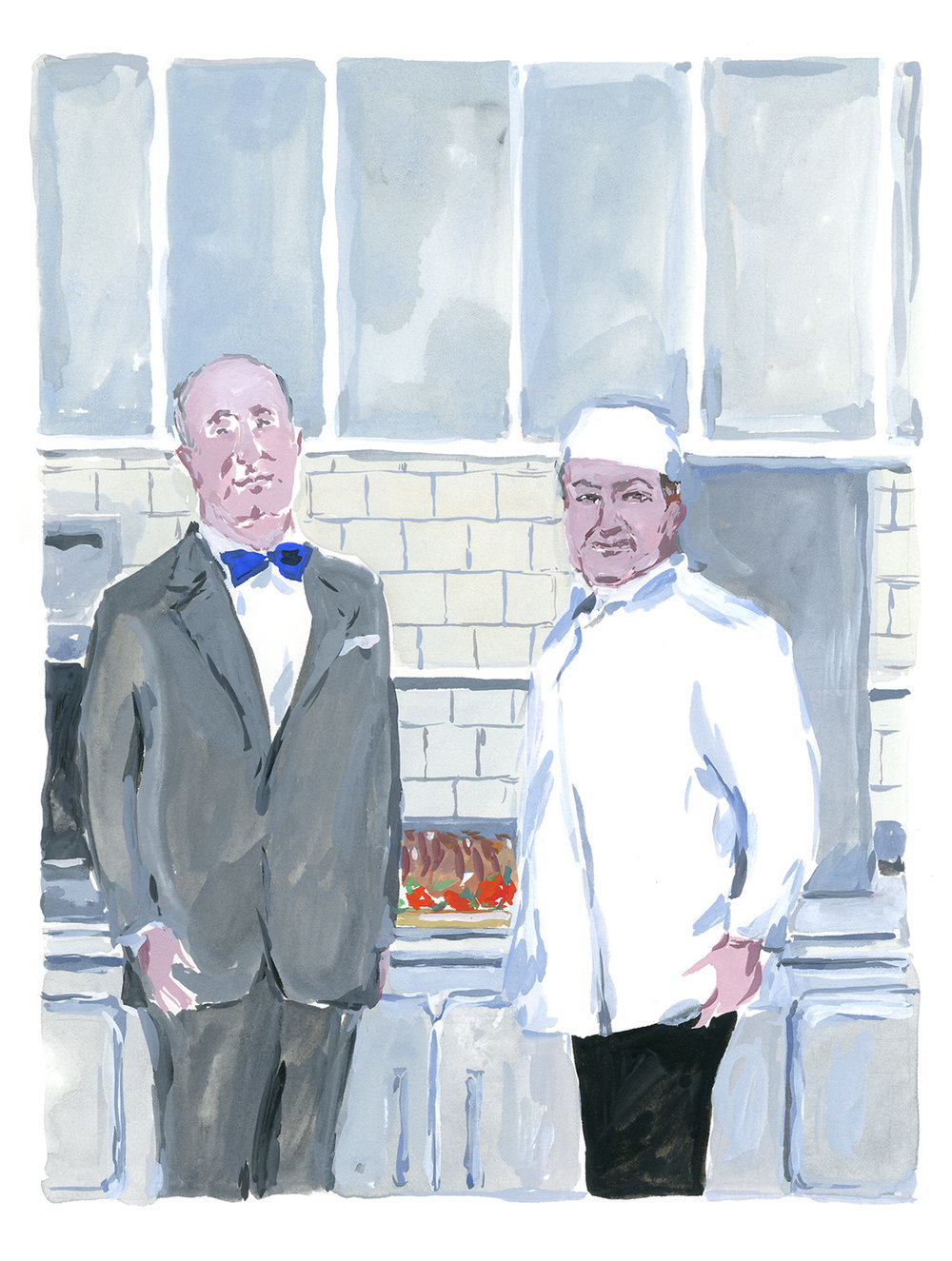 Christian Dior and his Chef at La Colle Noire. Christian Dior in the South, published by Rizzoli NY.