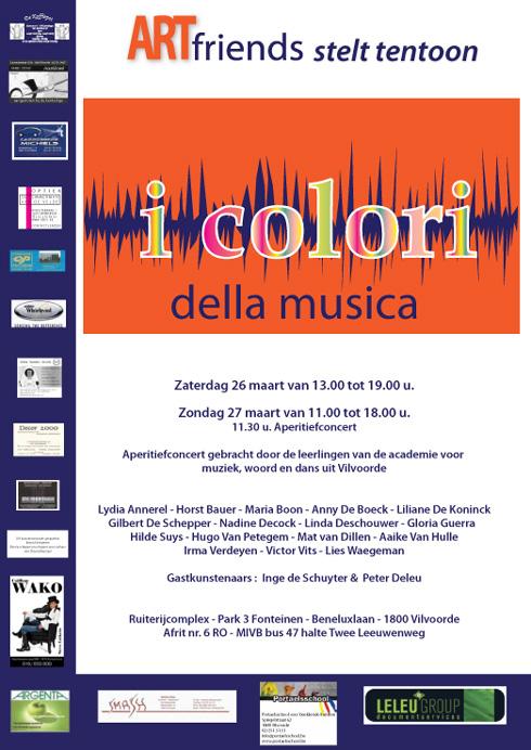 Tentoonstelling - Exhibition - i colori della musica