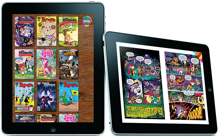 Me Comics - a collection of the finest digital comics for kids of all ages.