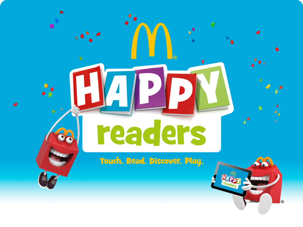 made in me mcdonald s happy readers