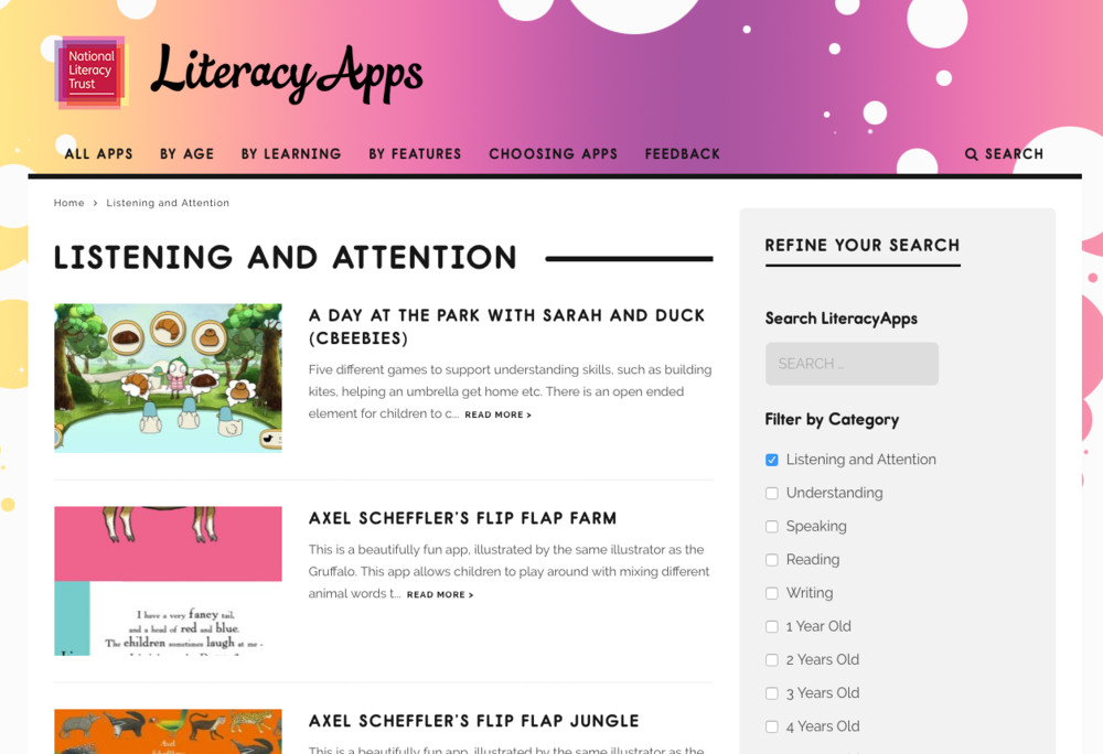 Image result for literacy apps literacy trust