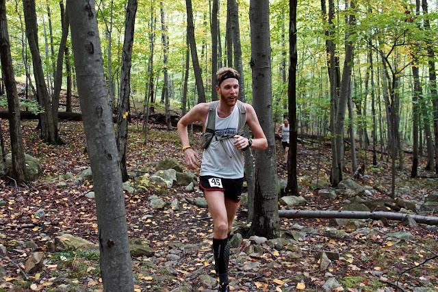 50k - 3rd place, David Allara