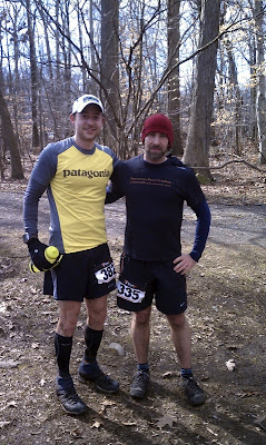 Phil & Lenny before the 10 Miler
