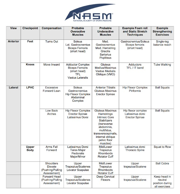 Nasm Solutions Table Mountain Peak Fitness