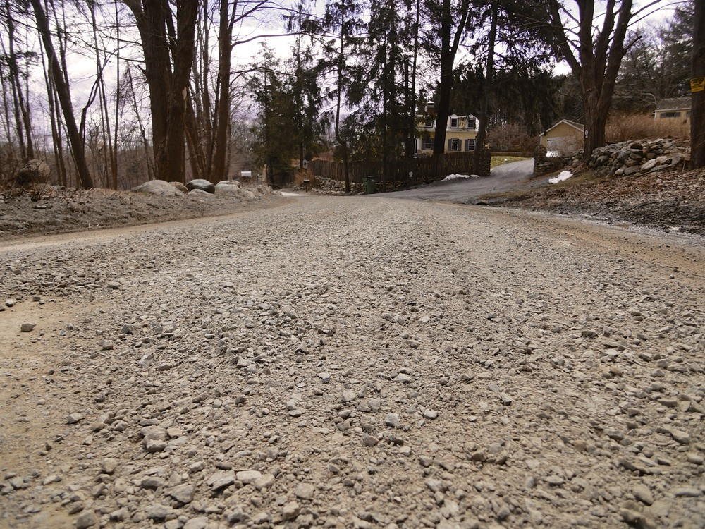 Some of the dirt road sections have been graded and reconditioned on 3/27/13. This makes the road a little soft but conditions will improve each day.