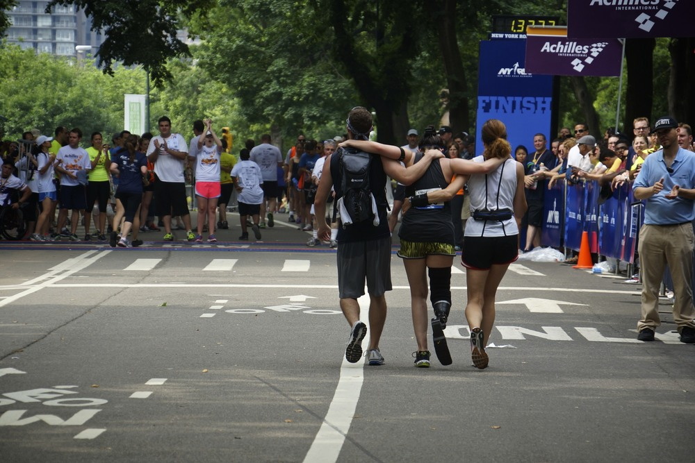 11th Annual Achilles Hope & Possibility 5 miler in Central Park. Facebook