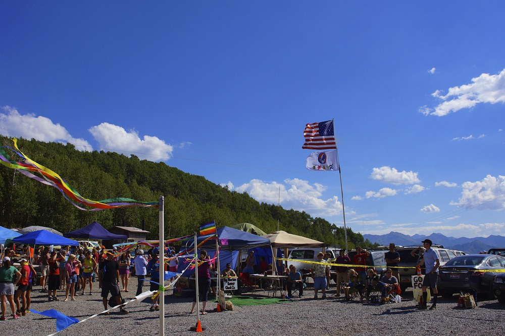 Big Mountain Pass Aid Station, mile 39.4