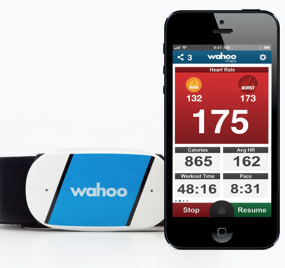 Wahoo Heart Rate Monitor for iPhone or Android  - The Wahoo HR monitor is a great option if you don't have a dedicated training watch to use. It's bluetooth capability quickly syncs up with your phone for reliable consistent data. This can be a great backup if you forgot to charge your watch or left it at home.   The Wahoo Ticker Run Heart Rate Monitor  - is more advanced and as an indoor mode for those treadmill runs you may have to do.   The Wahoo Fitness App  that it is needed to use the monitor does everything the best GPS watches out there do. The app also allows wireless syncing of your data to all of the popular training sites. Download the  Apple  or  Android  App