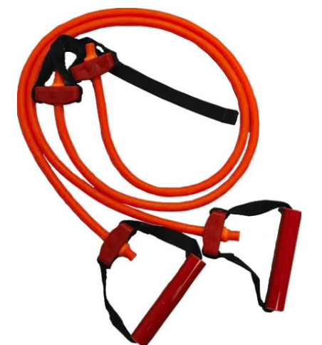 All Purpose Exercise Bands -These bands hold up well over time and can handle a commercial gyms traffic pretty well. I have only scene 1 of these snap and that band should have been retired long before that but the gym ignored it so the lady that was using it got a big whip to her back. You can use these with some webbing, a carabineer, and attach them to pretty much anything thats stable. They also have their own webbing that can be locked into a door frame or hooked over something. Its best to purchase all 6 bands or Extra Light to Extra Heavy. This will give you the greatest variety of resistance.