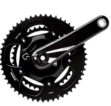 SRAM Quarq Riken GXP Crank Based Powermeter - This is a very consistent, accurate & reliable power meter. Its still priced somewhat high but at the lower end of crank based power meters. Power meters in general are priced pretty high. Another great option is the Stages Power meter, click here and one of the more affordable power meters, with prices starting at $699.
