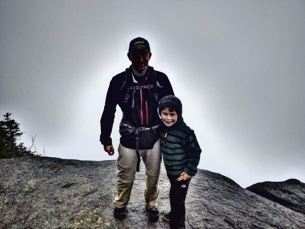 Ben & Gavin at the top of Mount Osceola
