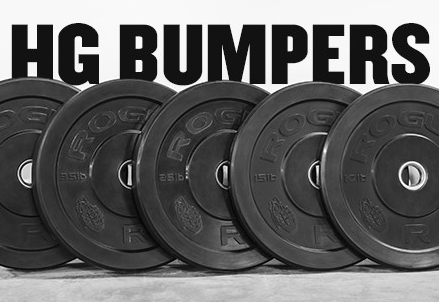 Rogue Fitness Bumper Plates   -  Very durable and cost effective bumper plates.