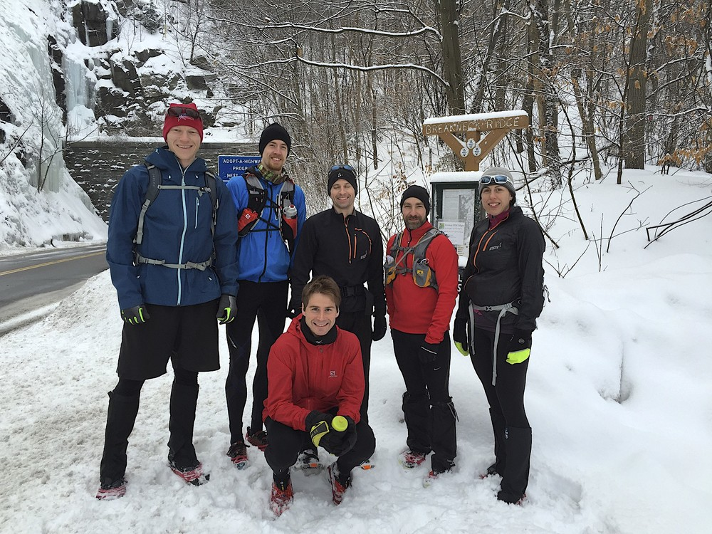 Adventure on 2/22/15 at the base of Breakneck Ridge.