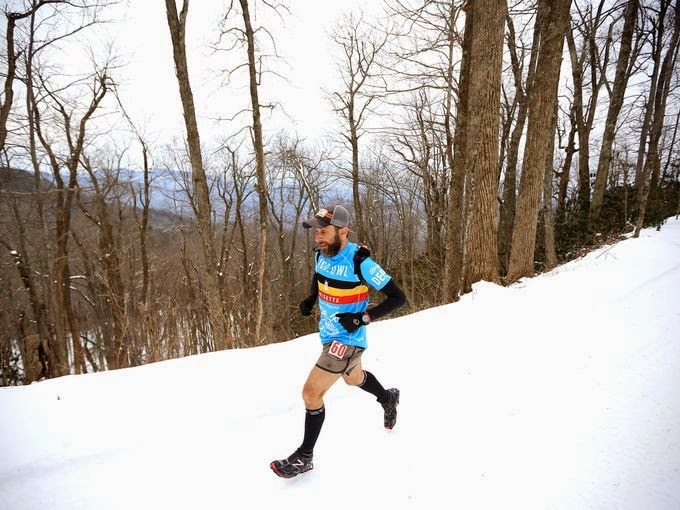 Coming downhill, trying to find that rhythm Photo: Asheville Citizen-Times