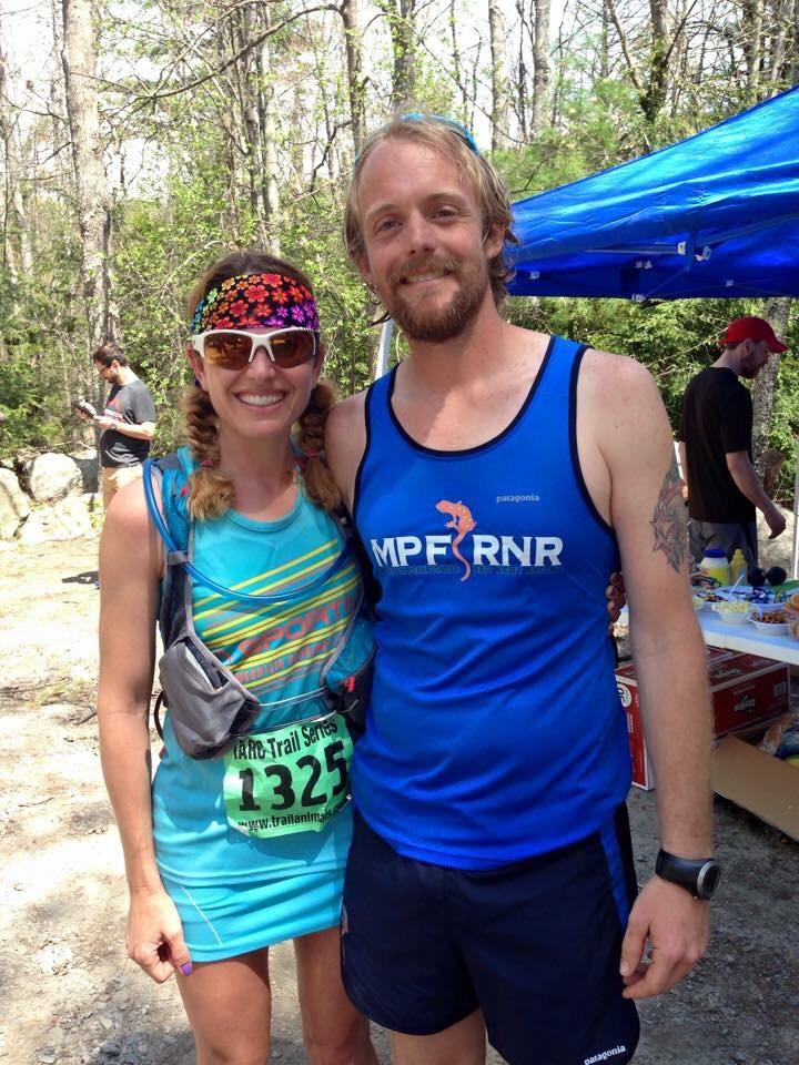 Ryan & Kristina at the 2015 Wapack. Photo by Mindy Randall