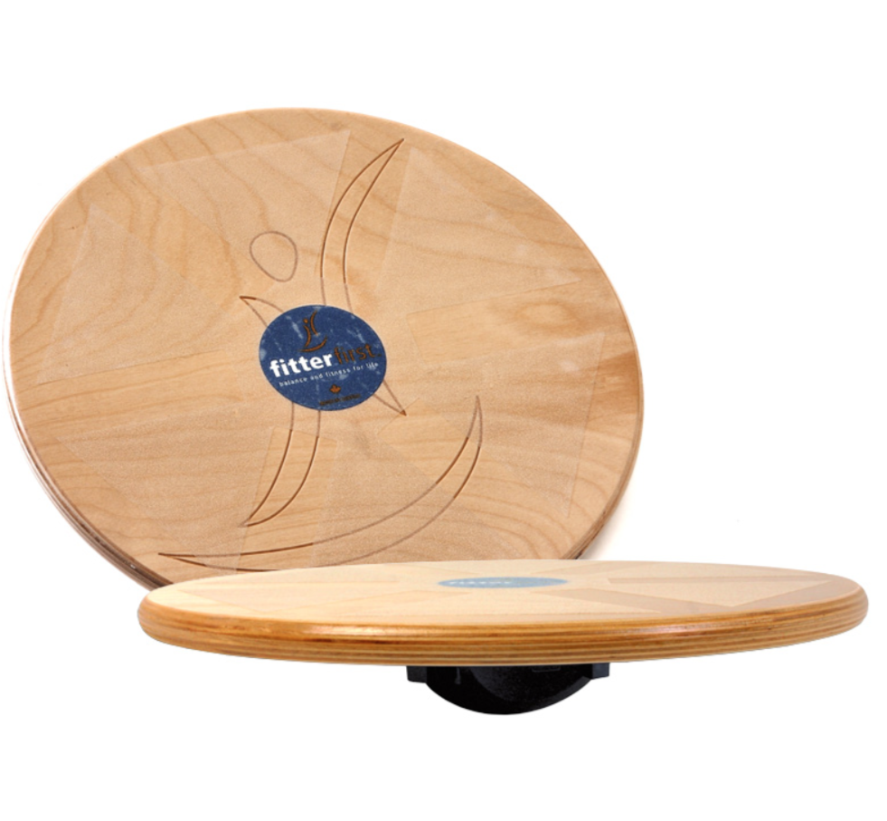 "Fitter First 20"" Wobble Board - Great for balance training, rehabilitation and injury prevention."